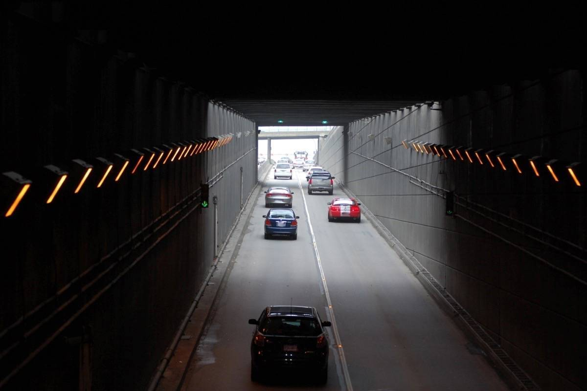 George Massey Tunnel connecting Richmond and North Delta is the biggest traffic bottleneck in Metro Vancouver. (North Delta Reporter)