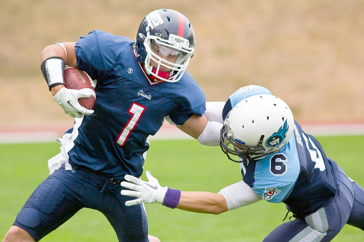 The White Rock-South Surrey Titans minor football association has opened registration for the coming season. (File photo)